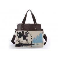 China Chinese Painting Canvas Handbags Women's Fabric Bag Canvas Tote Bag on sale