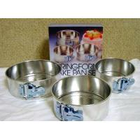 China 3 pcs Mini Springform Pan Set on sale
