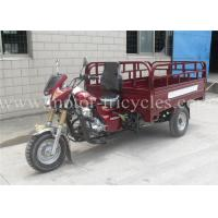 Loading 2000kg Heavy Duty Tricycle Three Wheel Hydraulic Dump Double Front ABSORBER Manufactures