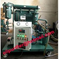 China Vacuum Insulation Oil Purifier,Transformer oil purification Unit, clean device, Remove Water, Gas ,Particles, Discolor on sale