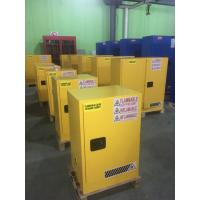 Laboratory Paint Storage Flammable Safety Cabinets For Oil Station , Long Life Manufactures