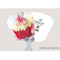 China Promotional Gift 3D Lenticular Printed Plastic Hand Fan With Cartoon Picture on sale
