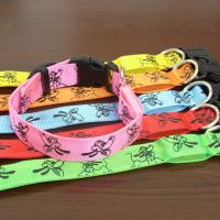 Quality Double Row Flashing LED Dog Collars for sale