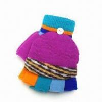 Children's Gloves, Made of 100% Cotton, Available in Customized Designs Manufactures