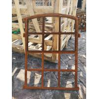 Classical Cast Iron Windows Small Opening Light , Vertical Or Horizontal Manufactures
