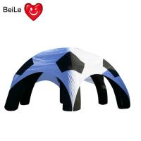 Buy cheap Spider shaped Event customized size advertising inflatable soccer tent from wholesalers