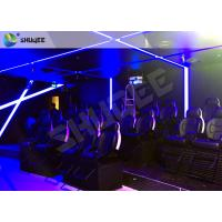 Attractive Entertainment Project 6D Motion Theater Holding 20 People Manufactures