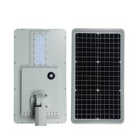 China 10w 20w 30w 40w 60w 80w 100w solar panel street light on sale
