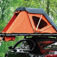 China 4 Persons With 2 Ladders Car Roof Tent Soft Shell High Waterproof Fabric on sale