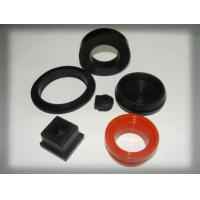 China Shore A ASTM D2240 Custom Silicone Parts Industrial Rubber Products on sale