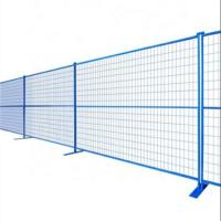 Canada Standard Temporary Construction Fence Outdoor Low Carbon Iron Wire Manufactures