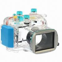40M/130ft Waterproof Underwater Case/Camera Housing, Ideal for Diving, Canon G11/G12/WP-DC34 Manufactures