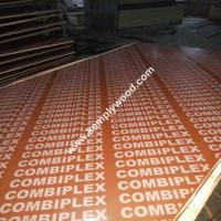 Red/Black/Brown Film Faced Plywood for construction Kemele Concrete Shuttering plywood,Wood construction material Manufactures