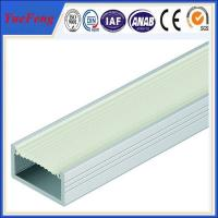 China aluminum extrusion profiles for leds factory,customized aluminum led housing Manufactures