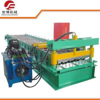 Hydraulic Drive Sheet Roll Forming Machine / Steel Roofing Machine With UCT Bearing Manufactures