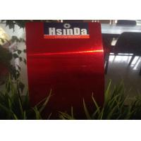 High Gloss Candy Red Transparent Powder Coating For Electrical Insulating Varnish Manufactures