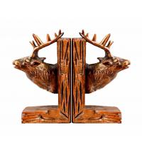 Deer Reindeer Stag Home Decor Bookends Red Brown For Library Study Room Manufactures