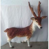 Buy cheap Handicraft deer,Size:85×25×108cm,Natural material Easter day decoration and home from wholesalers
