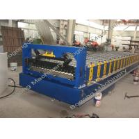 China Automatic Corrugated Sheet Forming Machine High Load Capacity 75mm Shaft Diameter on sale