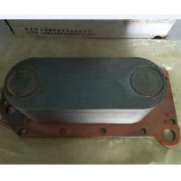 High Performance Diesel Engine Oil Cooler For Kinglong Higer Bus Corrosion Resistance Manufactures