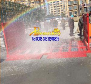 China Constructionindustrywashingmachine, truck and wheel washer on sale