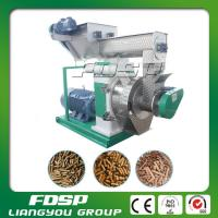 CE approved hot sale 3-5tph wood pellets fuel making machine with siemens motor