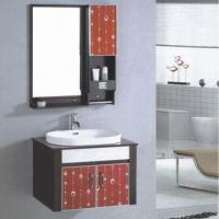 Buy cheap Bathroom Vanity/Cabinet, Made of MDF/PVC Materials, with Ceramic Sink from wholesalers