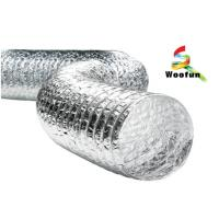 Customized Lightweight Aluminum Duct Pipe Silvery Fire Retardant Economical Manufactures