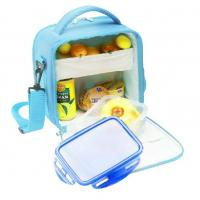 Picnic Cooler Childrens Lunch Bags Sky Blue Color 600D Nylon Manufactures