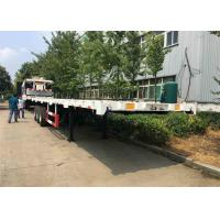 40 / 20 30-50 Tons Container Trailer Truck Customized Tri Axle Semi Trailer Manufactures