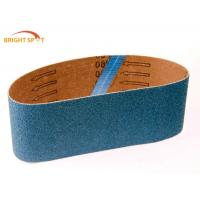 Anti Static Abrasive Sanding Belts 2 X 42 P150 Grit Casting Polishing With Aluminum Oxide Manufactures