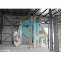 Animal Feed Pellet Production Line / Manual Cattle Feed Pellet Making Machine Manufactures