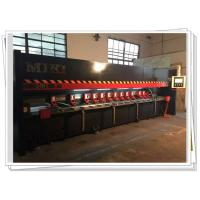 CNC High Accuracy Metal Plate Slotting Machine With Blade Cooling For V Groove Manufactures