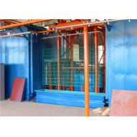 China PVC Powder Coating Wire Galvanizing Line For Welding Mesh Fence And Pots on sale