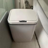 15L Anti Rust Motion Sensor Trash Can For Home / Office / Airport Manufactures