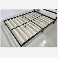 China Easy Install Wooden Slat Bed Frame With Mattress And Trundle For Home Guest on sale