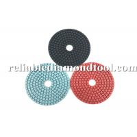 Diamond Grit Polishing Pads ISO TUV 4 Inch Buffing Pads Working With Water Manufactures