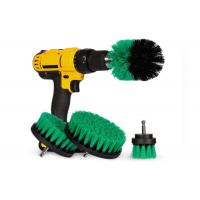 4 Pcs Drill Rotating Brush Sets Power Scrubber Brush For Grout Tiles Manufactures