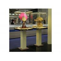 Fashion Custom Glass Display Cases Fully Assembled Structure Manufactures