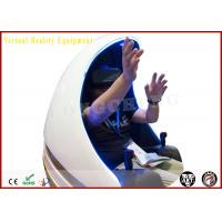 1080P HD Simulation Electric 1 Seat Virtual Reality Equipment Egg Cinema Manufactures