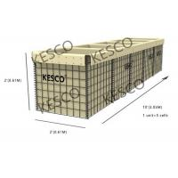HESCO MIL 5 Series Military Sand Wall Hesco Barriers Zinc -5% Aluminum Alloy Wire Manufactures