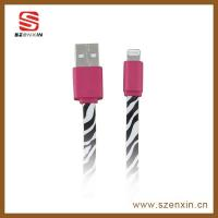 Flat multifuntion USB data cable for smart phone Manufactures