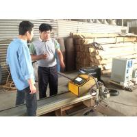 1500 * 2500MM CNC Flame Cutting Machine / CNC Flame Cutters For Carbon Steel Manufactures