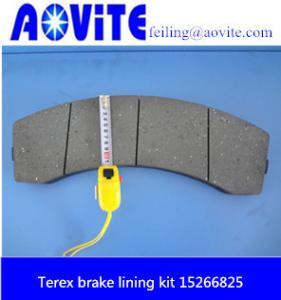 Terex TR-100 brake lining kit 15266825 Manufactures