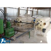 Kaolin Clay Industry Round Plate Filter Press With Round PP Filter Plate Manufactures