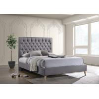 China Queen Size Hotel Platform Bed , Heavy Duty Platform Bed With Storage on sale