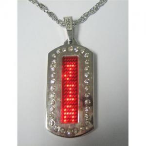 China LED necklace on sale