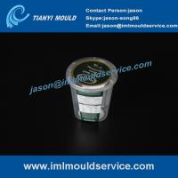 Professional china plastics IML thin wall injection mold making, IML thin wall mold tools Manufactures
