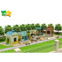 China Garden Outdoor Play Structures Layout Independent Designed Integrate Functional on sale