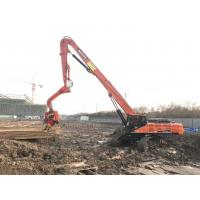 Excavator Mounted Hydraulic Pile Driving Equipment Fast Silence Operation Manufactures